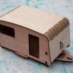 Dolls caravan made at Maker Space