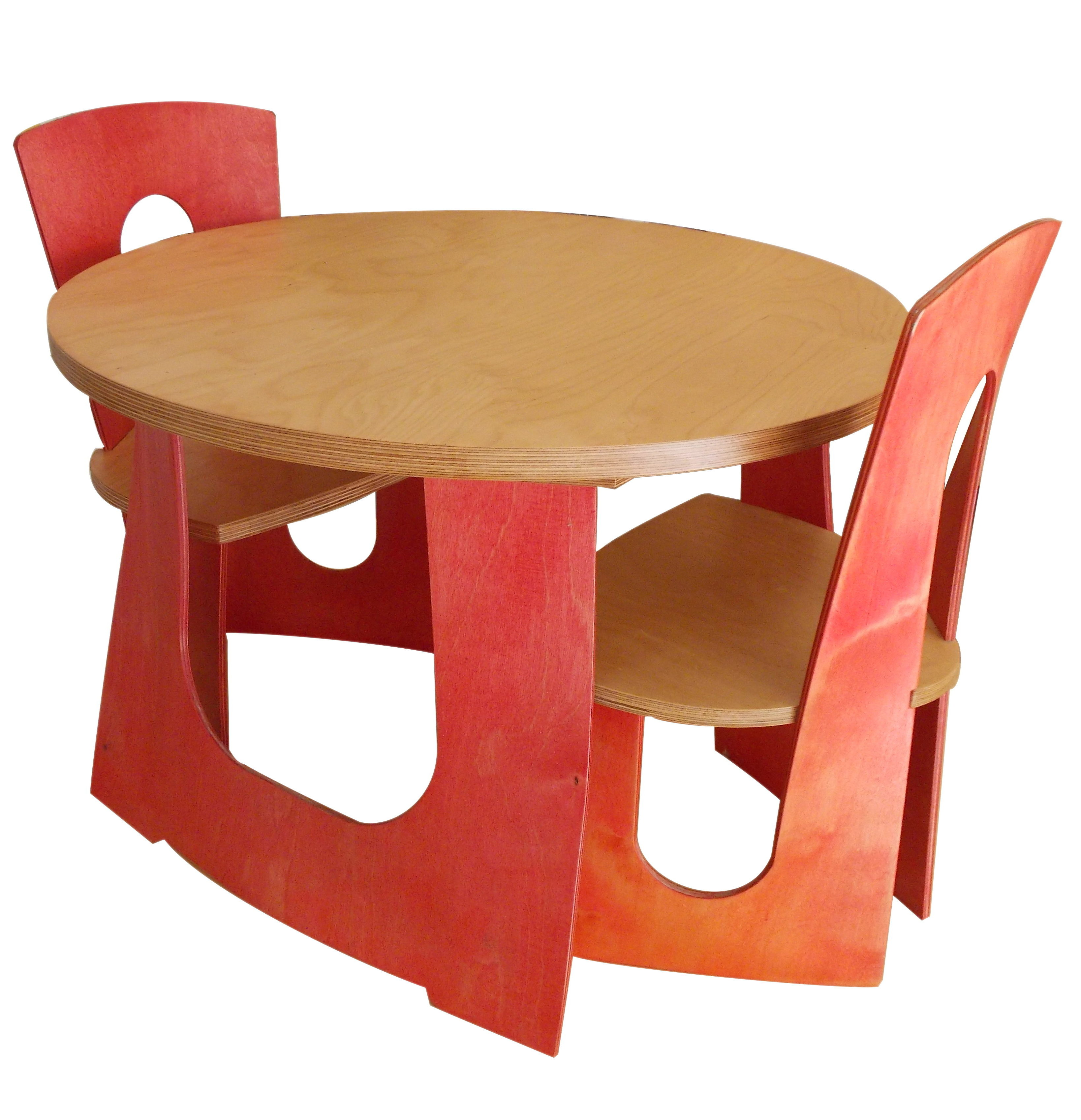 K Furniture, children's table and chairs