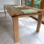 Dining table in oak
