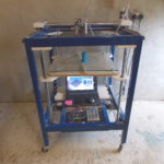 Testing large 3D printer.