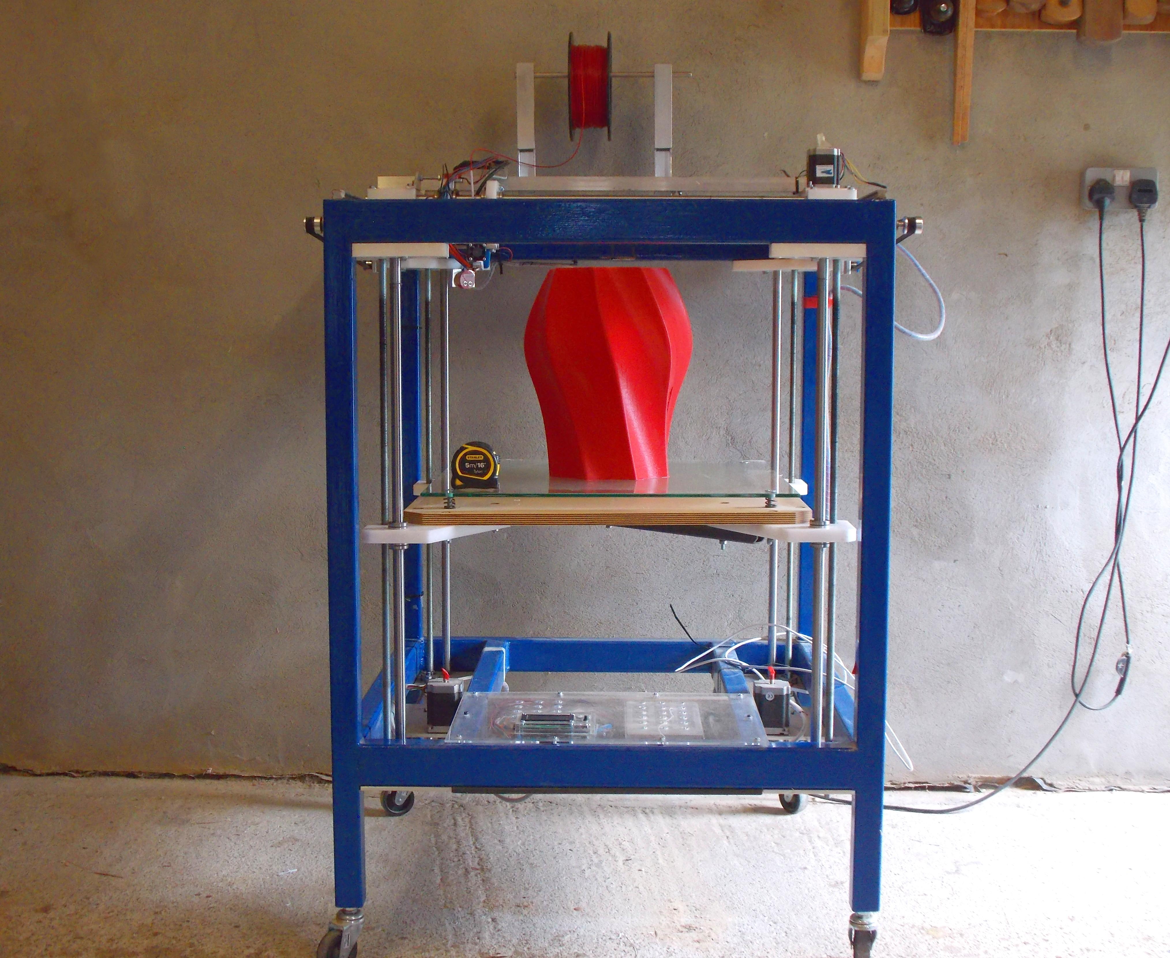 Large capacity 3D printer