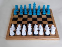 Chess set, from Thingiverse
