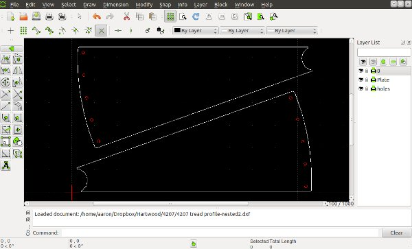 Librecad screenshot
