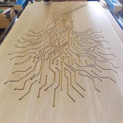 Circuitree table top. Designer: Ali Mikail