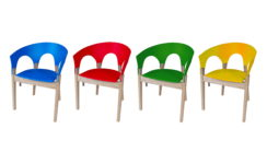 Re-form chair color swatch. Designer/maker: Aaron Moore
