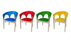 Re-form chair color swatch. Designer/maker: Aaron Moore
