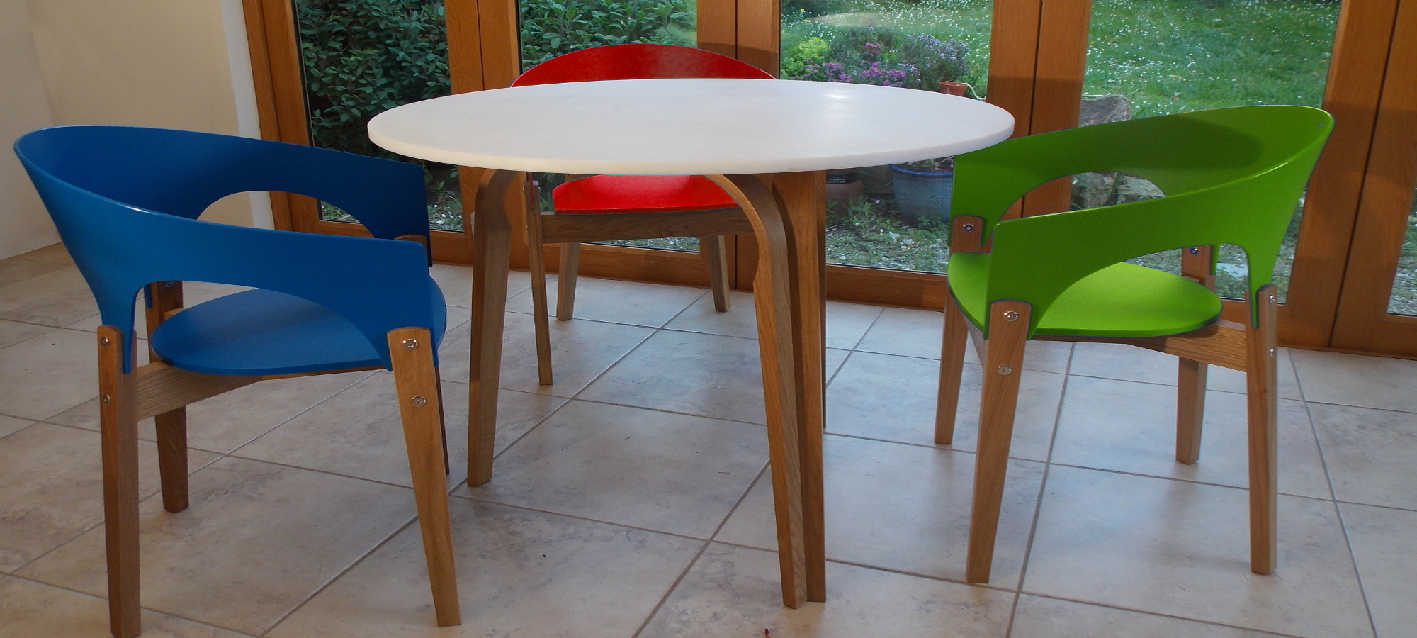 Re-Form Table and Chairs