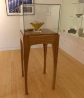Display Case Leach Gallery: Designer/Maker Aaron Moore