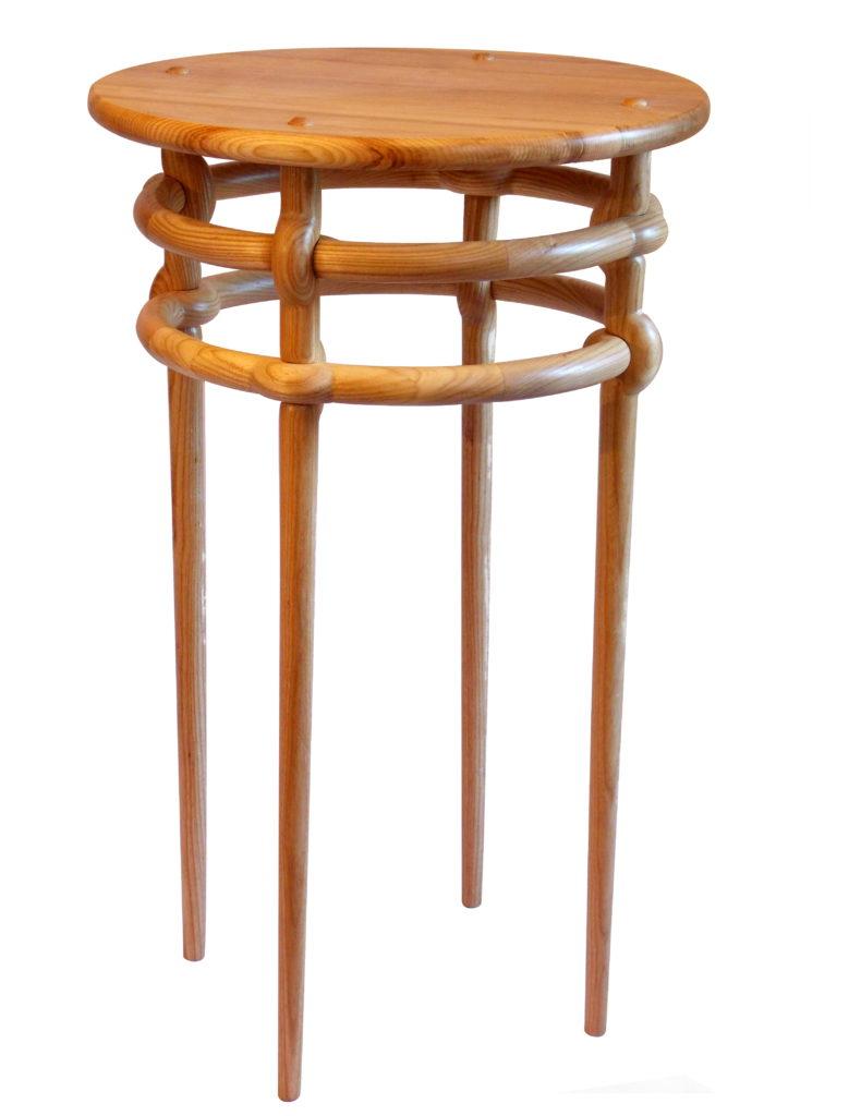 Weave table in ash. Designer/maker: Aaron Moore