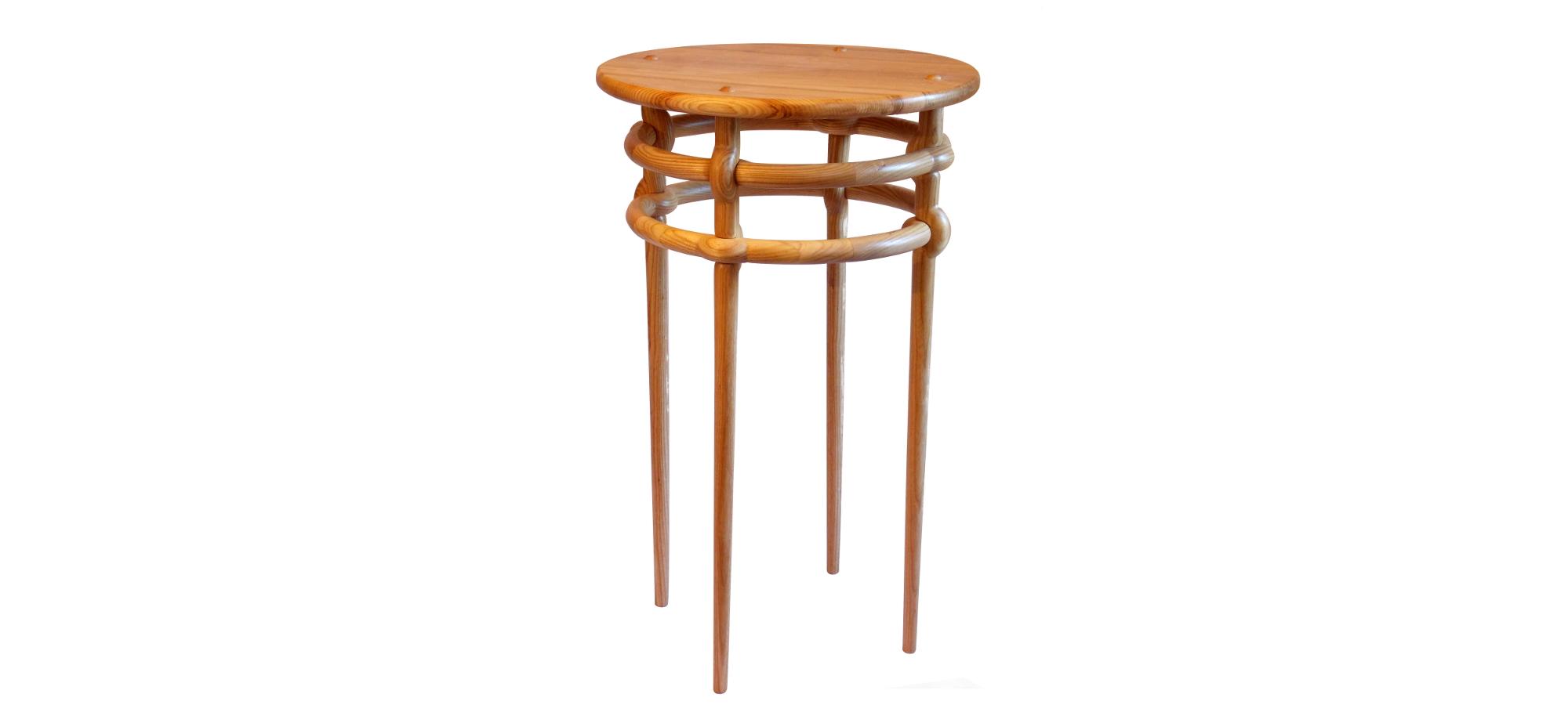 Weave Table in ash. Designer: Aaron Moore