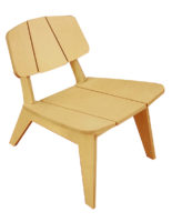 Lounge chair made at Maker Space
