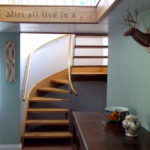 Conileigh staircase. Designer/maker: Aaron Moore