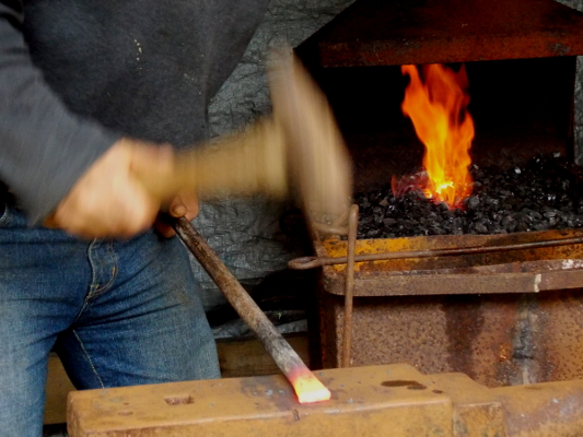 Blacksmithing: my secret vice