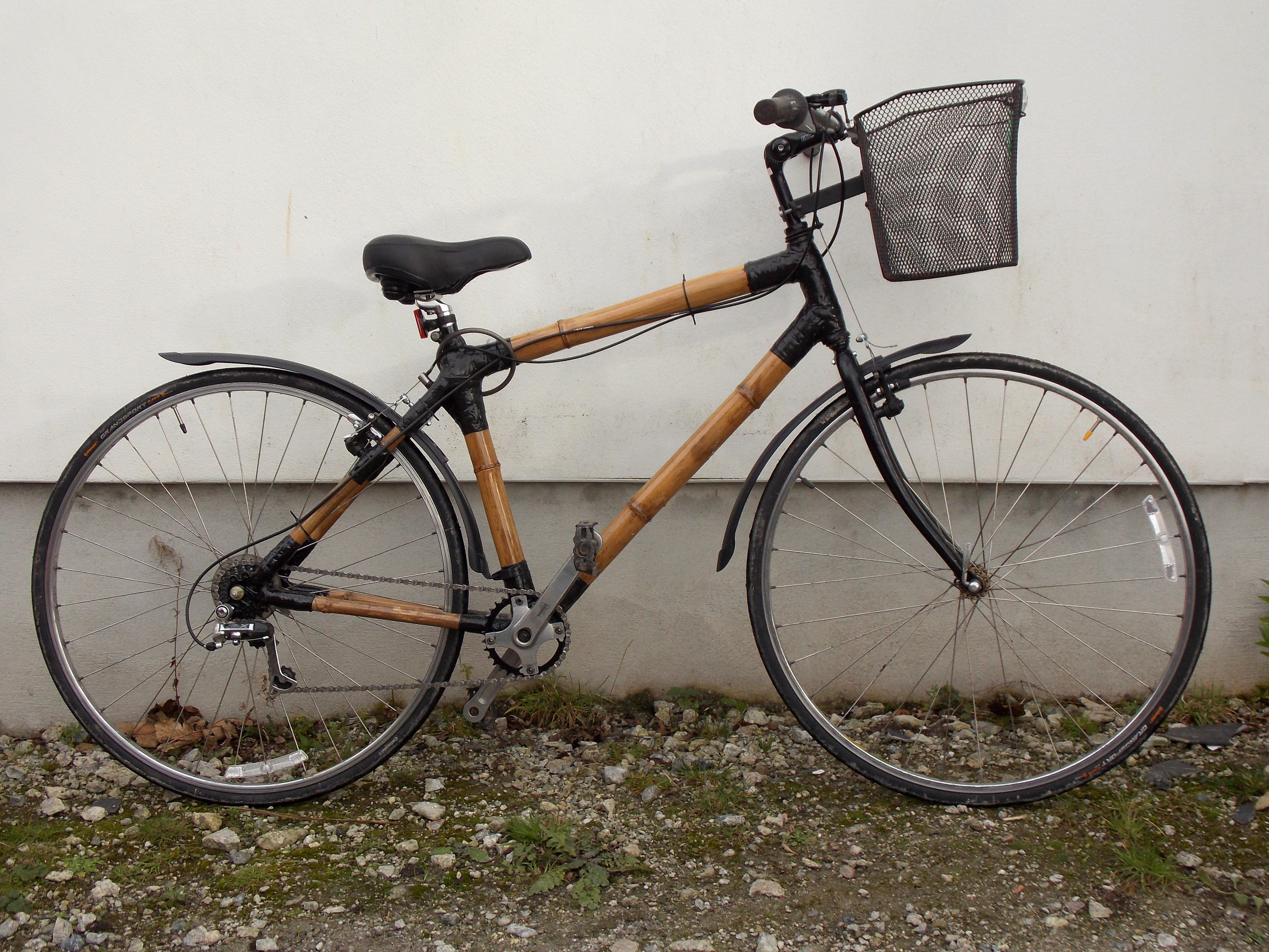 Bamboo-bike#2 Designer/maker Aaron and Miri Moore